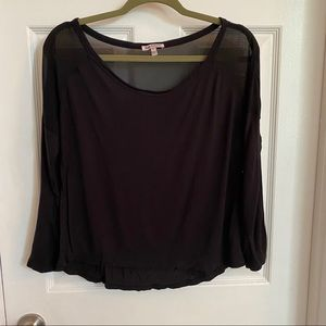 Black Juicy Couture top